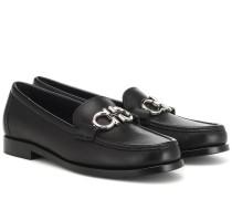 Loafers Gancini aus Leder
