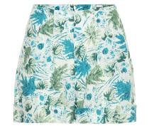 Bedruckte Shorts Shadi aus Leinen