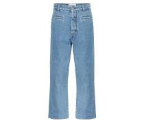 High-Rise Boyfriend Jeans