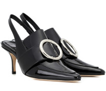 Slingback-Pumps Eagle aus Lackleder