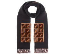 Schal aus Cashmere und Wolle