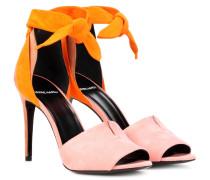 Sandalen Secret aus Veloursleder