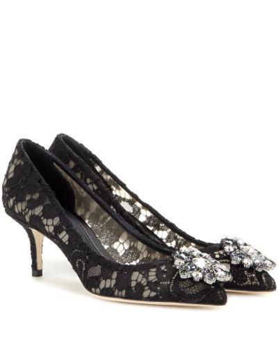 Dolce & Gabbana Damen Verzierte Pumps Bellucci aus Spitze Billige Echte Rabatt Echte Bester Großhandelsverkauf Online Günstig Kaufen Großen Rabatt Freies Verschiffen Footlocker QE8hEuvQV1