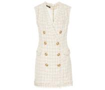 Verziertes Minikleid aus Tweed