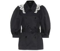 Jacke aus Spitze und Baumwolle