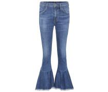High-Rise Jeans Drew Flounce