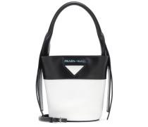Bucket-Bag Ouverture aus Leder