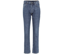 High-Rise Straight Jeans The Benefit
