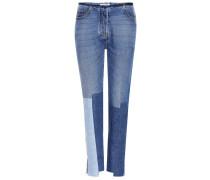 Jeans mit Patchwork
