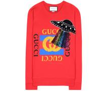 Sweatshirt mit Pailletten
