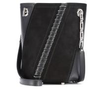 Bucket-Bag Mini Hex aus Leder