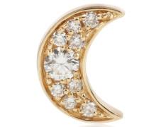 Einzelner Ohrring Claire de Lune aus 18kt Gold