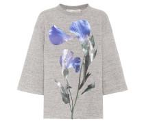 Bedrucktes Sweatshirt Liliana aus Baumwolle