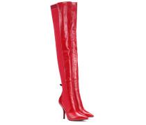 Overknee-Stiefel Rockoko aus Leder