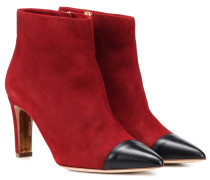 Ankle Boots Warrior aus Veloursleder