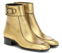 Ankle Boots Miles aus Leder