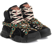 Sneakers Flashtrek mit Kristallen