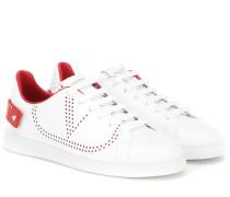 Sneakers BACKNET aus Leder
