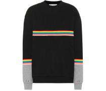 Sweatshirt Rib Colour Block