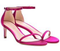 Sandalen aus Satin