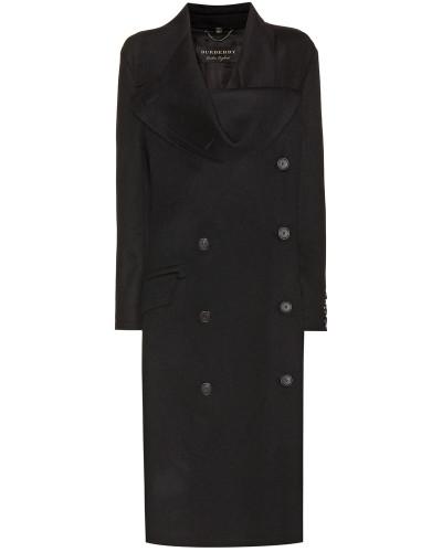 Mantel aus Doubleface-Wolle