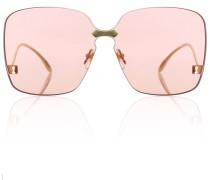 Rahmenlose Sonnenbrille