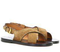 Sandalen Jane aus Leder