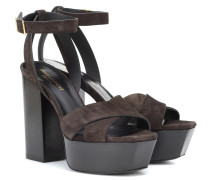 Sandalen Farrah 125 aus Veloursleder