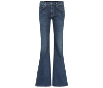 High-Rise Flared Jeans Chloé