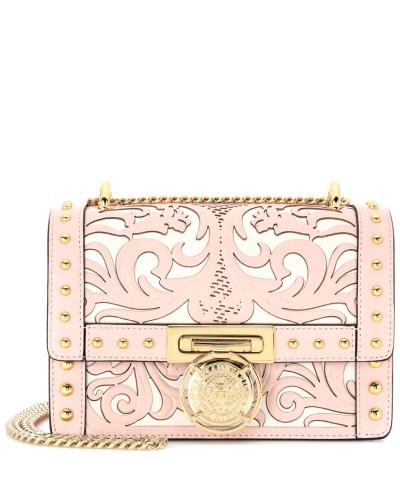 Perfekt Balmain Damen Schultertasche Western Motif Flap Box aus Leder Rabatt Erkunden Verkauf Ebay Sfq677G