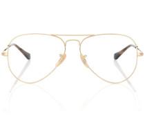 Brille Aviator Optics