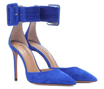 Pumps Casablanca 85 aus Veloursleder