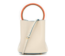 Bucket-Bag Pannier aus Leder