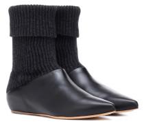 Ankle Boots Rocia mit Leder
