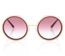 Runde Sonnenbrille mit Profil