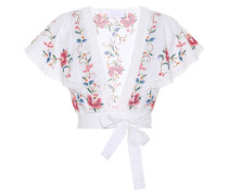 Besticktes Cropped Top Laelia
