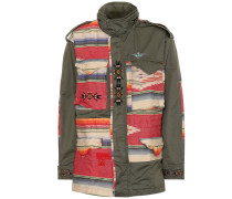 Bestickte Jacke aus Baumwolle
