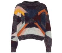 Pullover mit Wolle und Mohair