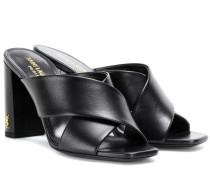 Sandaletten Loulou 70 aus Leder