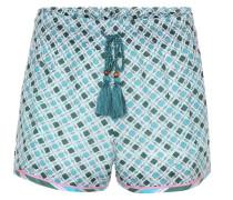 Shorts aus Seide und Baumwolle