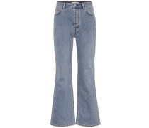 Flared Jeans Taughty aus Baumwolle