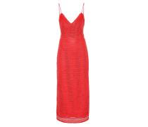Kleid Oviedo aus Baumwolle und Leder