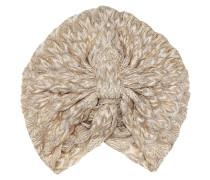 Turban aus Häkelstrick