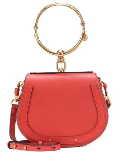 Online Shop  Um Online Chloé Damen Tasche Small Nile aus Leder Günstig Kaufen Shop Bester Ort Online-Shop Zum Verkauf ghatPCE1Dx