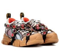 Sneakers Flashtrek mit Kristalle