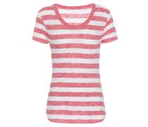 Gestreiftes T-Shirt Gia aus Baumwolle