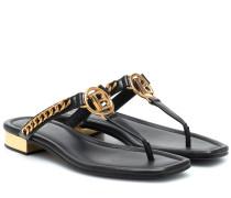 Sandalen B aus Leder