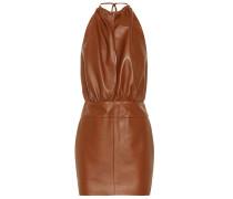 Minikleid aus Leder