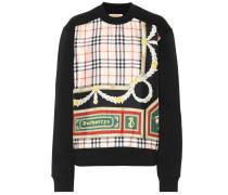 Bedrucktes Sweatshirt aus einem Baumwollgemisch