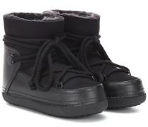 Leder-Boots Classic Low mit Pelz